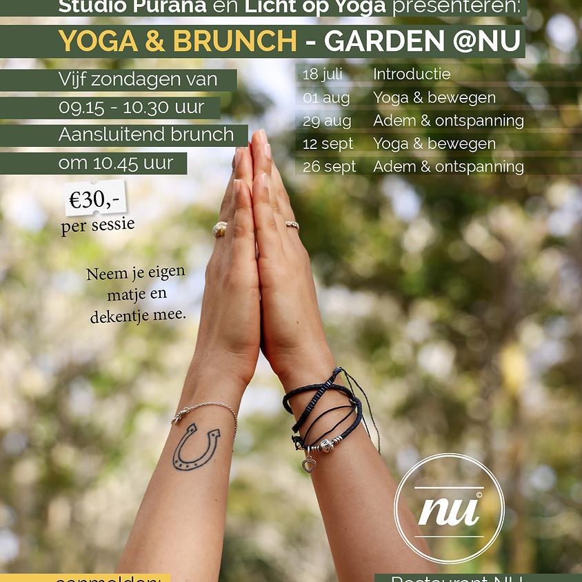 Yoga & Brunch Garden @ Nu Eersel