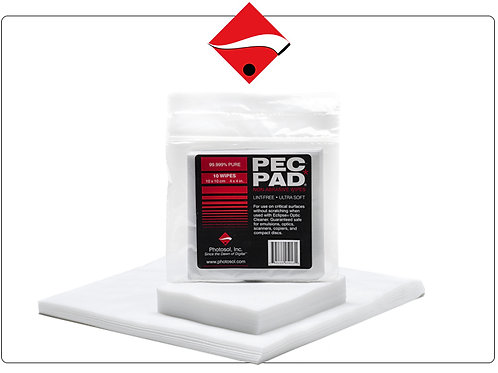 PEC PADS cleaning wipes Photographic Solutions Lens and sensor cleaning