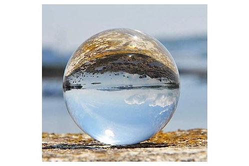 Photography crystal 'LensBall' 80mm