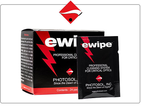 EWipe cleaning wipes Photographic Solutions Lens and sensor cleaning