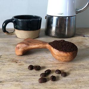 Coffee scoop by Ynys Twca