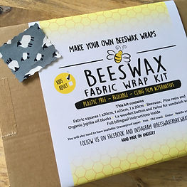 Beeswax Fabric DIY Kit