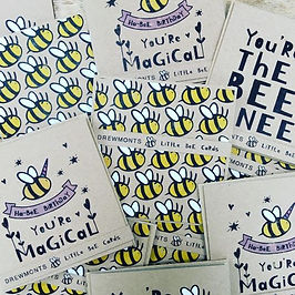 bee themed cards