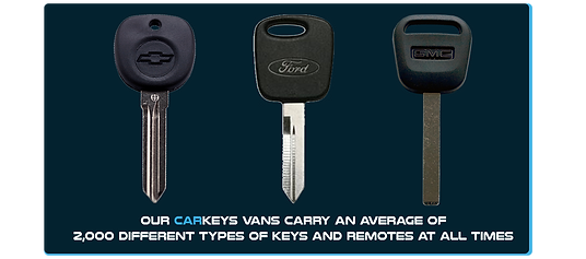 At Car Keys LLC, our vans carry 2,000 different types of keys and remote. car keys LLC locksmith pittsburgh pennsylvania west virginia eastern ohio gainesville florida lost key service programming cutting