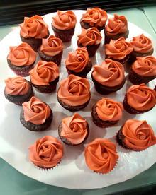Chocolate mini cupcakes