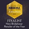 The Bridal Awards 2019 Finalist - New Brideswear Retailer of the Year