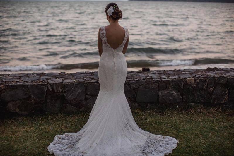 Vestido sereia praia 1