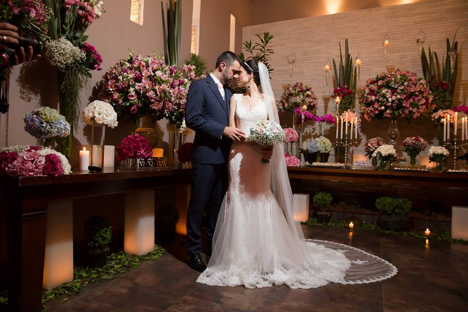 Vestido de noiva sereia off-white