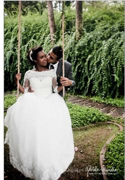 Vestido de noiva princesa campo