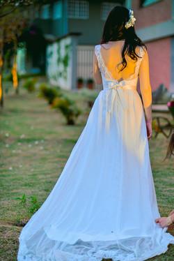 Vestido de noiva leve