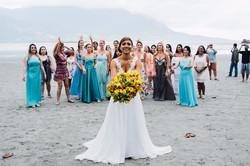Vestido de noiva leve praia 3