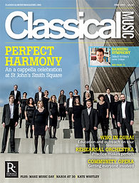 Classical Music Magazine. June 2017