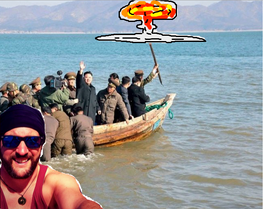 North Korea/China