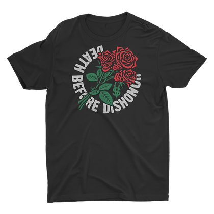 Death Before Dishonor Rose Tee