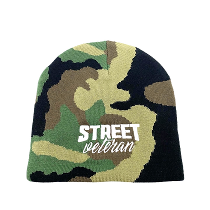 Street Veteran Camouflage Beanie