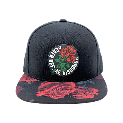 Death Before Dishonor Rose Snapback
