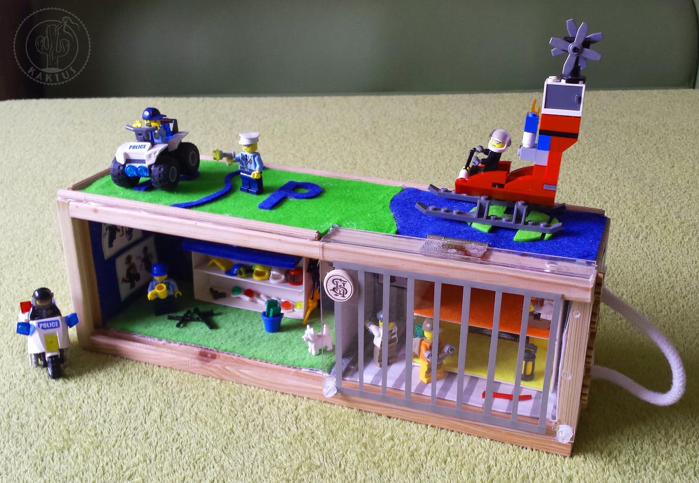 Więzienie Lego City