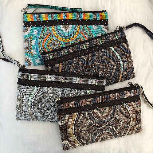 Beaded Clutch - Large