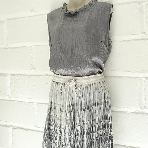 Mia Skirt - Grey Bamboo