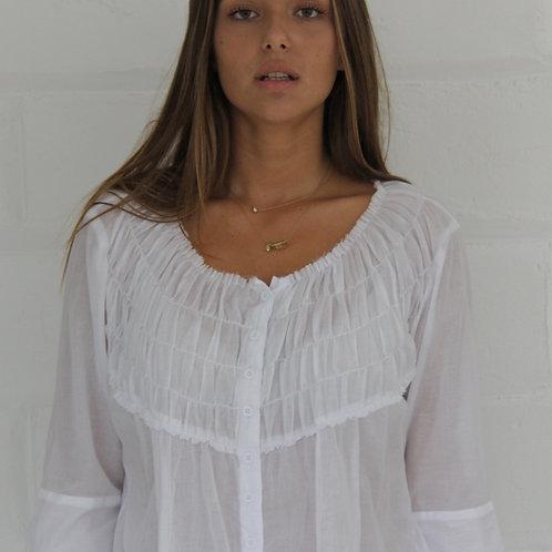 Phoebe Blouse - White