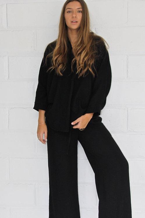 Nina Shirt - Black