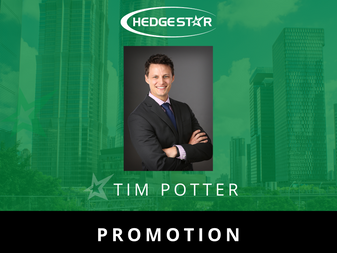 Tim Potter promoted to Director of Operations at HedgeStar