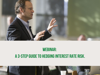 Webinar: A 3-step guide to hedging interest rate risk.