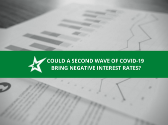 Could a Second Wave of COVID-19 Bring Negative Interest Rates?
