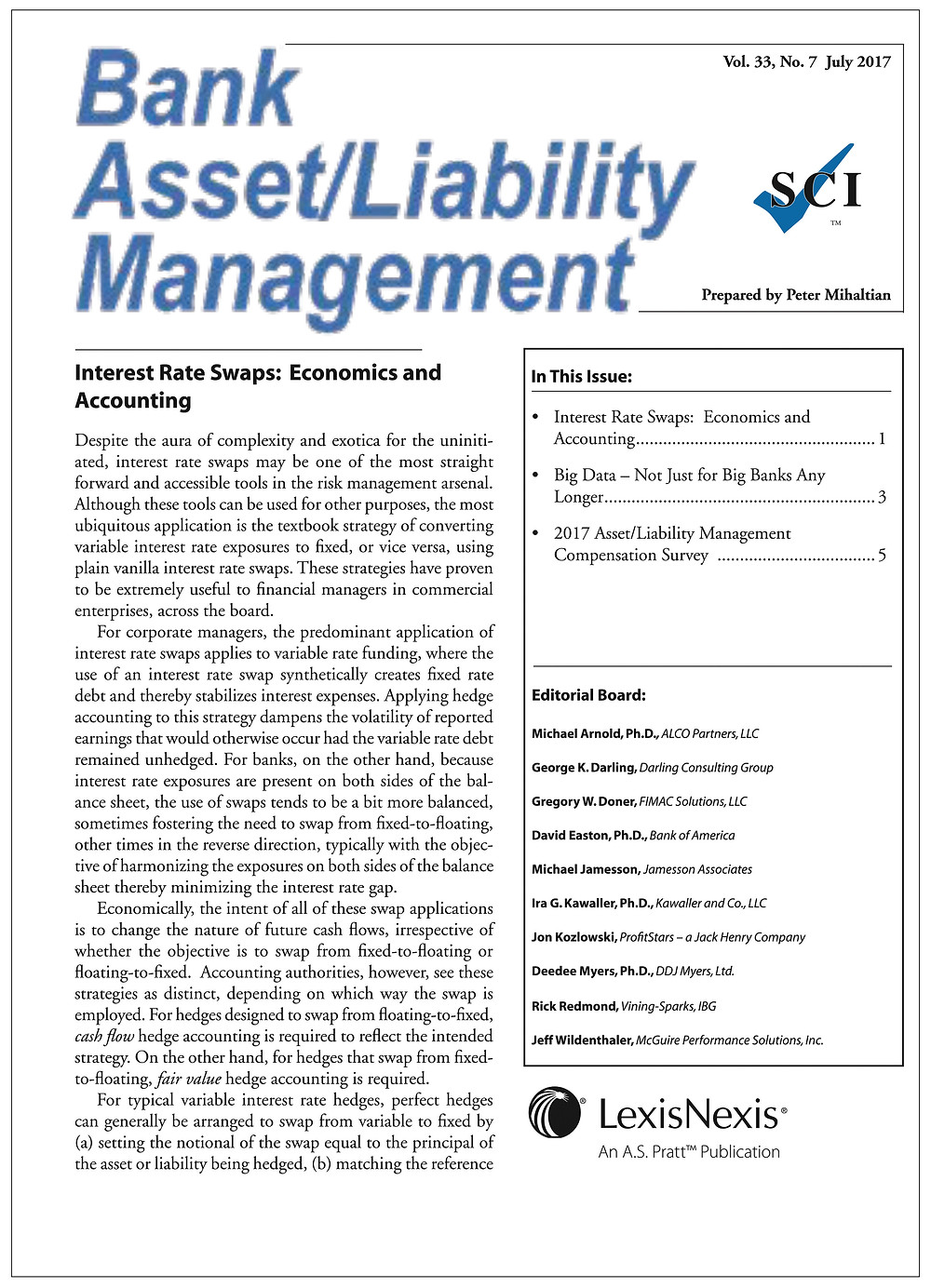 Bank Asset / Liability Management