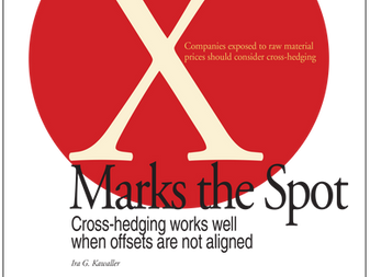 Cross hedging – X Marks the Spot