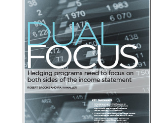 Dual Focus: Hedging Programs Need to Focus on Both Sides of the Income Statement