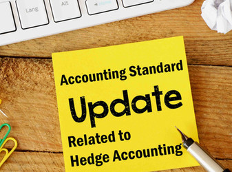 Summary of the new Accounting Standard Update relating to hedge accounting.