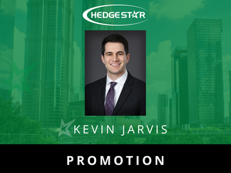 Kevin Jarvis promoted to Senior Analyst at HedgeStar