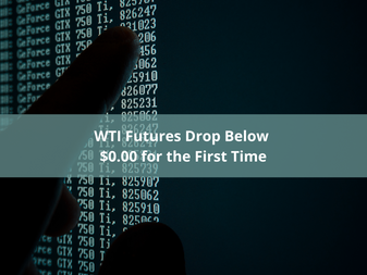 HedgeTalk: WTI Futures Drop Below $0.00 for the First Time