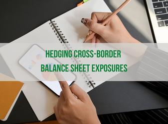 Hedging Cross-Border Balance Sheet Exposures