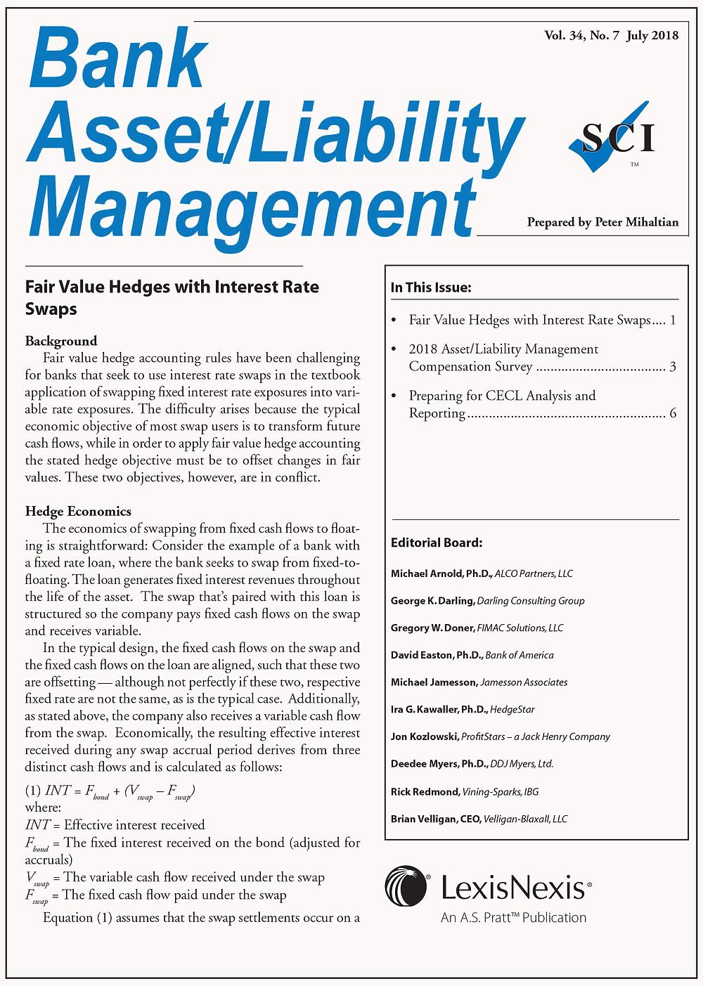Bank Asset/Liability Management