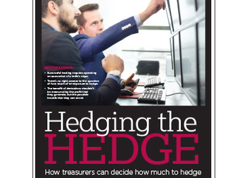Hedging the Hedge: How Treasurers Can Decide How Much to Hedge