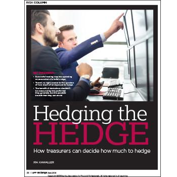 Hedging the Hedge