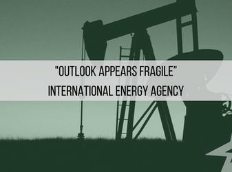 "HedgeTalk: ""Outlook Appears Fragile"" International Energy Agency"