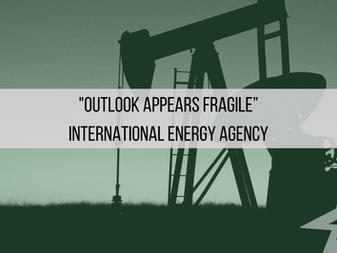"HedgeTalk: ""Outlook Appears Fragile"" International Energy Agency"