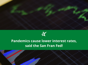 HedgeTalk: Pandemics Cause Lower Interest Rates, Said the San Fran Fed!