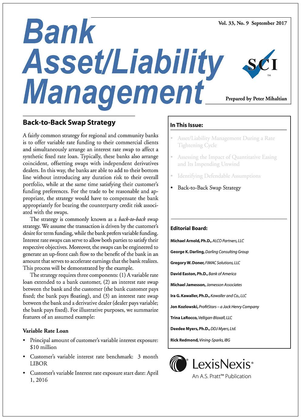 Bank Asset Liability Management