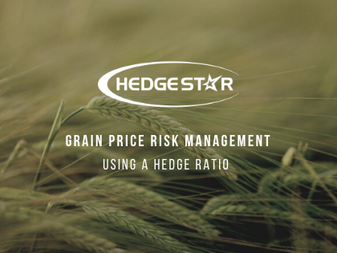 Grain Price Risk Management: Using A Hedge Ratio