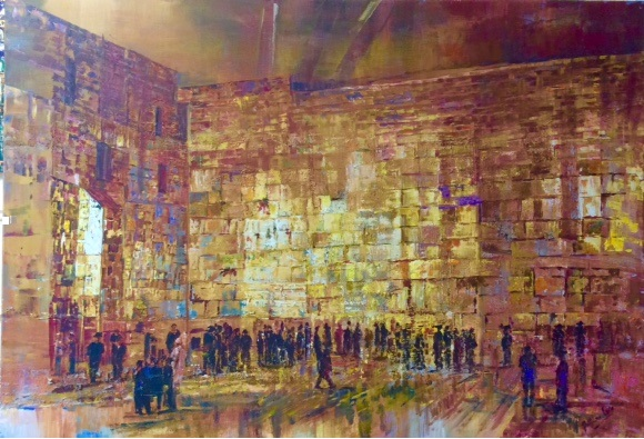 Shabbat evening at the Western Wall