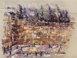 Jerusalem Sous La Neige