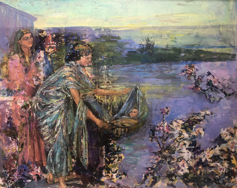 Moise sorti des eaux