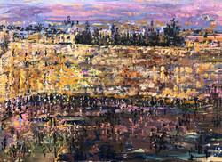 Jerusalem at Night II