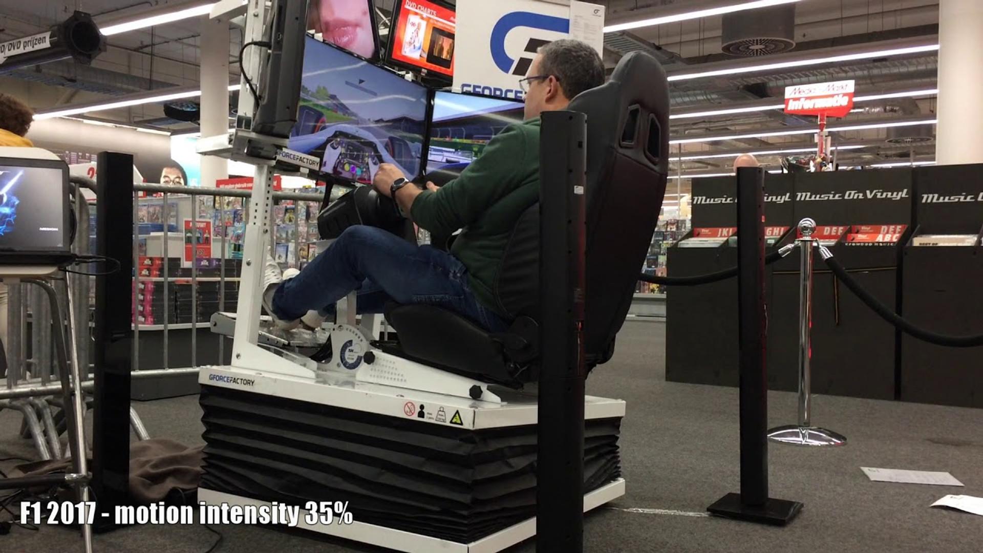 6DoF driving simulators for sale