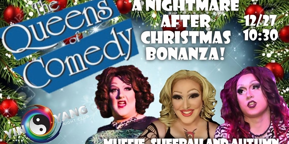The Queens of Comedy in A Nightmare after Christmas