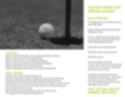 Green White Black and White Grass Golf T